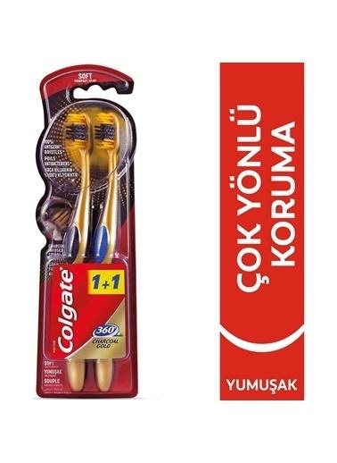 Colgate Colgate 360 Charcoal 2'Li Diş Fırçası Renksiz